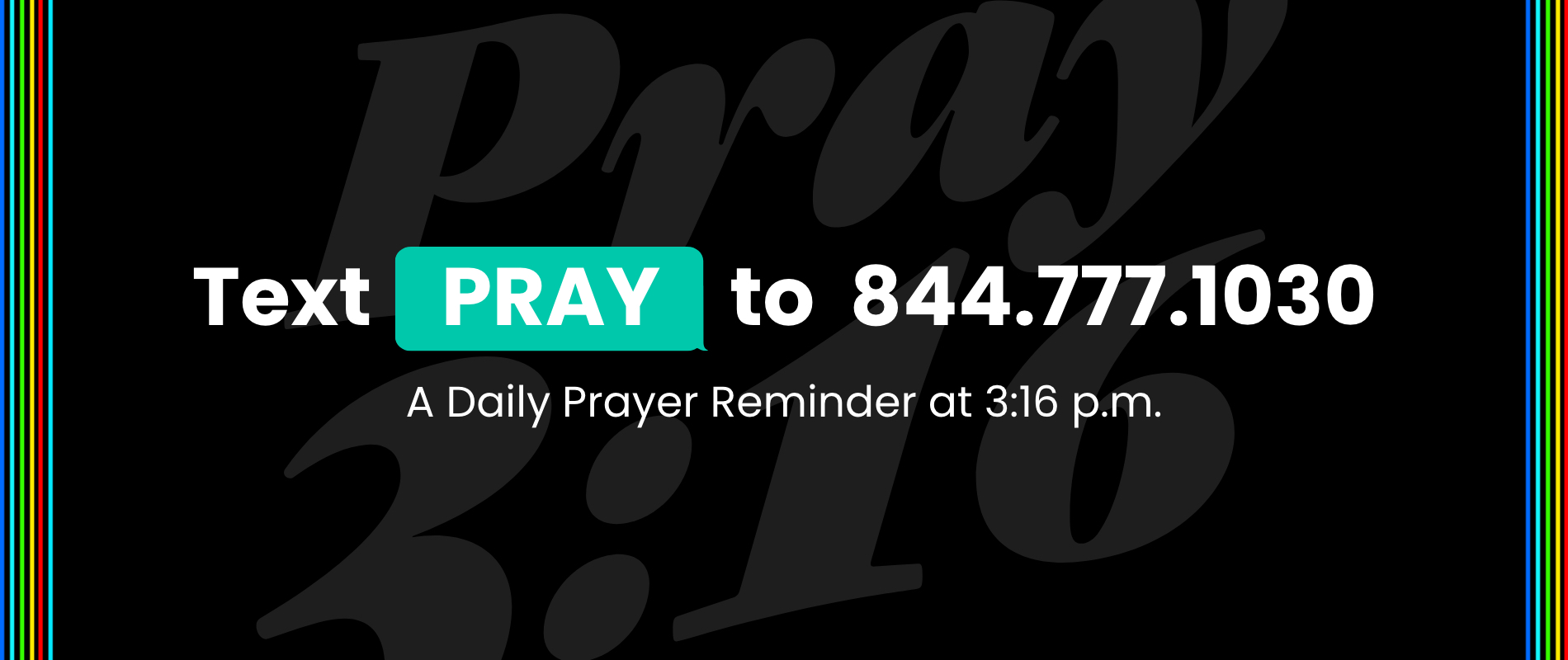 3:16 prayer prompts Rotator